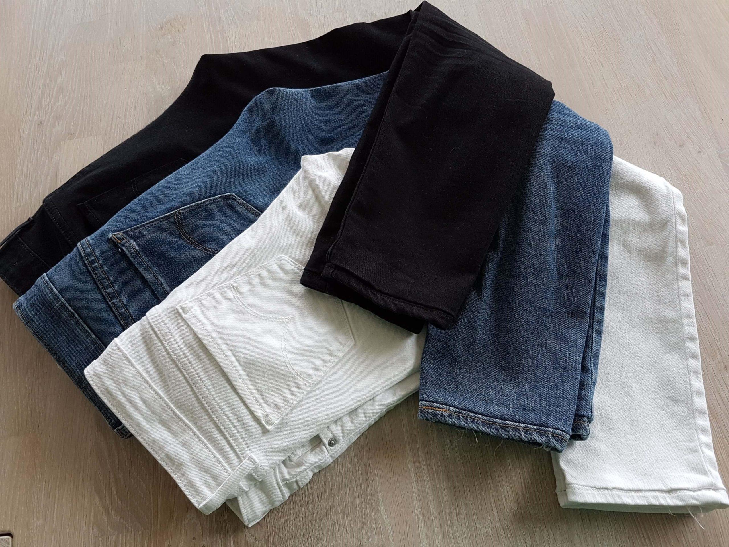 jeans oplægning kapsel garderobe