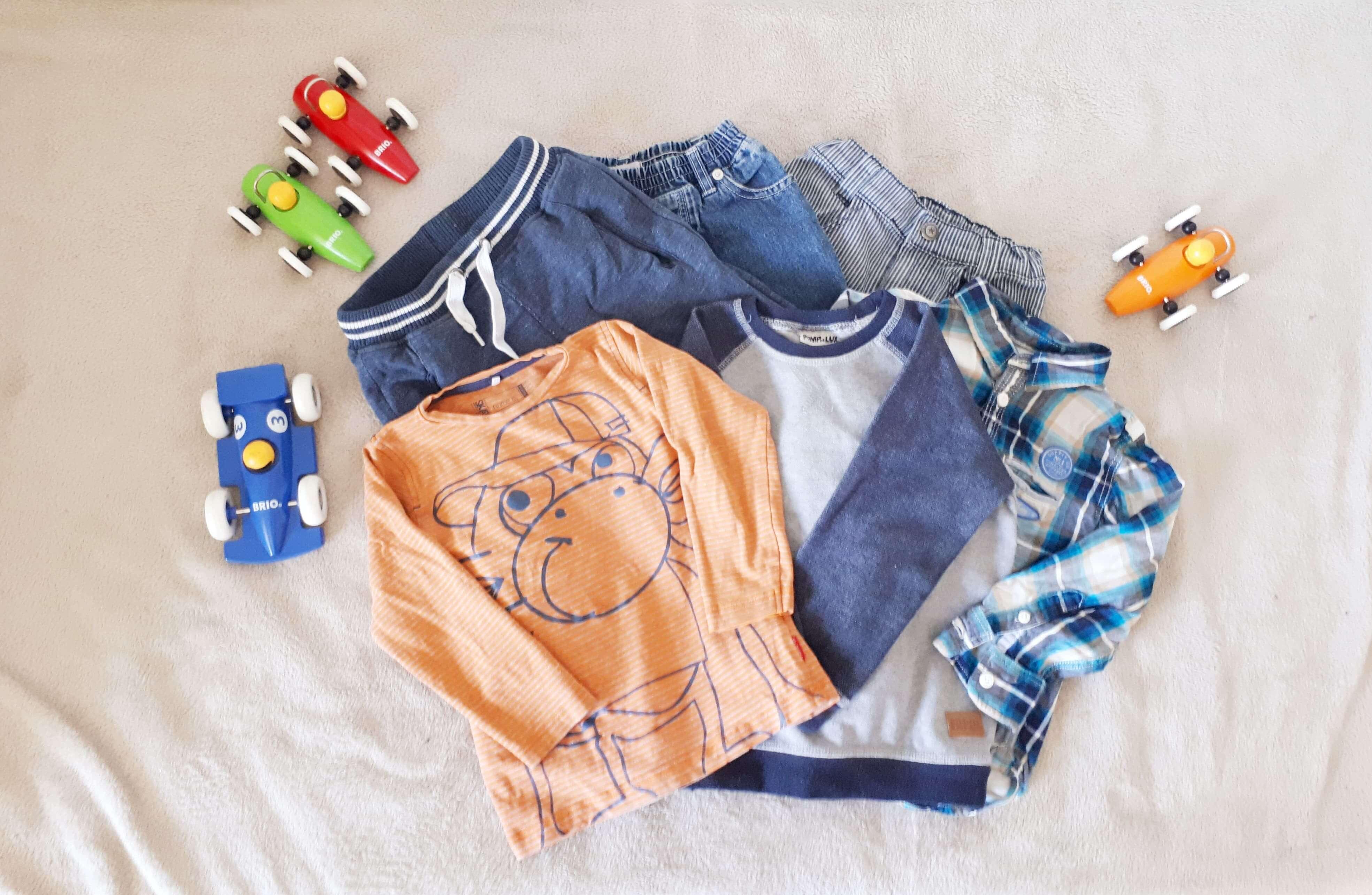 Kapsel garderobe til børn